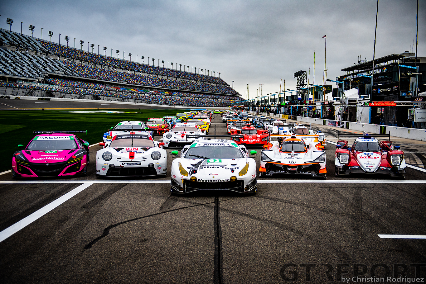 Daytona 24 Hours pre-race notebook