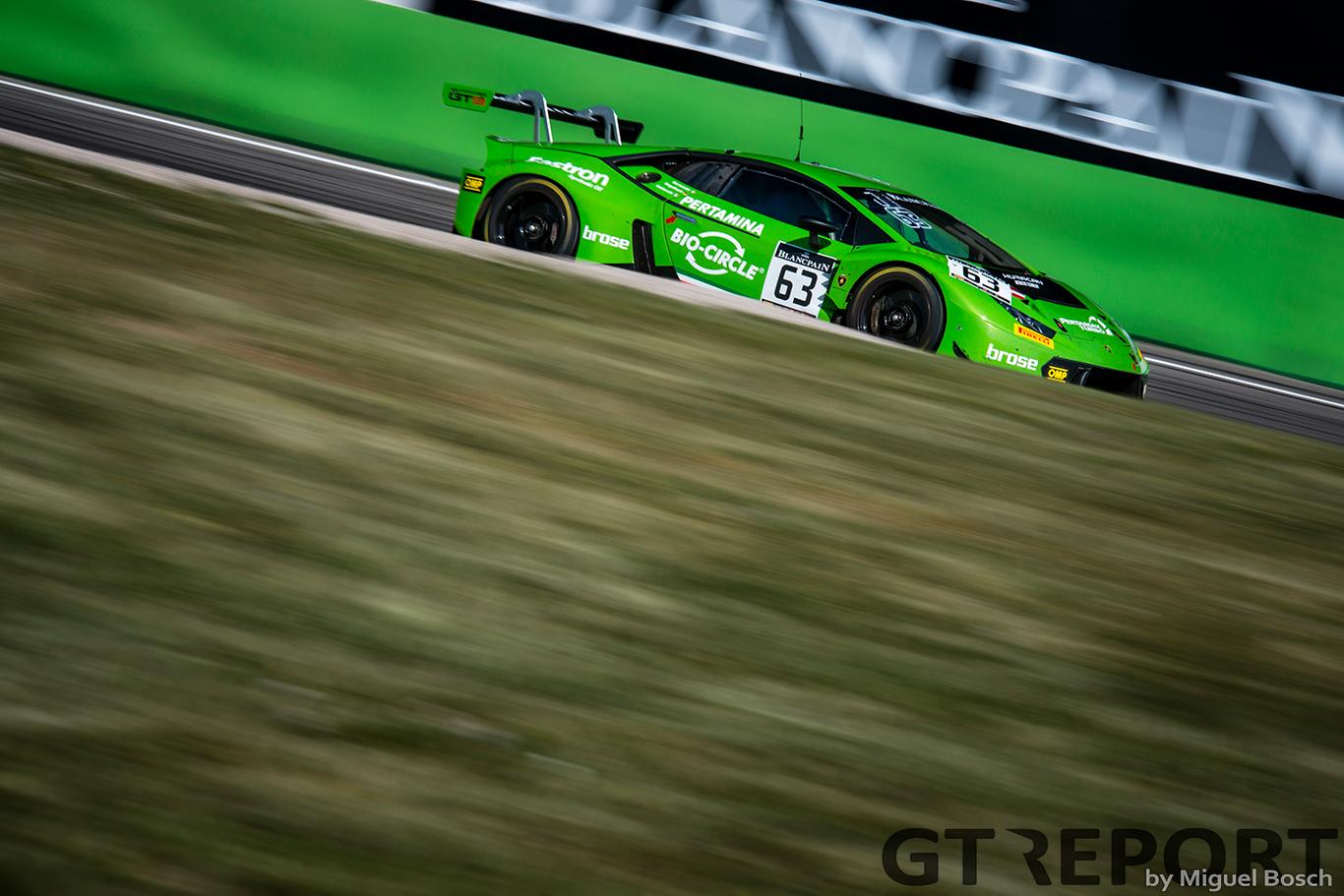 Moments of racing: Lamborghini's ascension