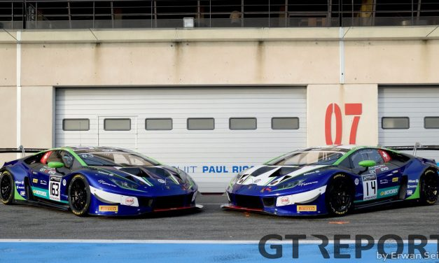 GT World Challenge Paul Ricard pre-season test