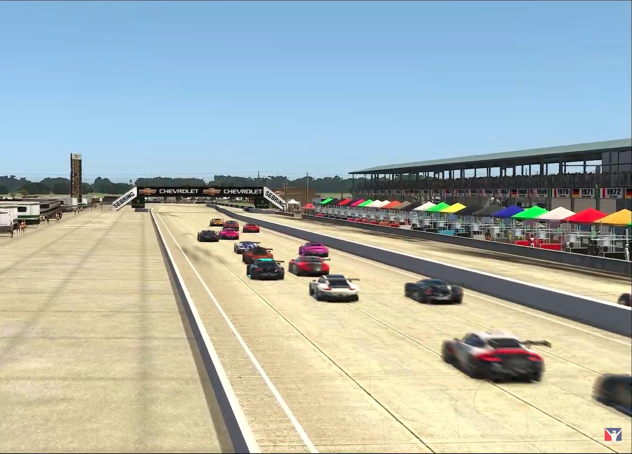 IMSA sebring virtual race