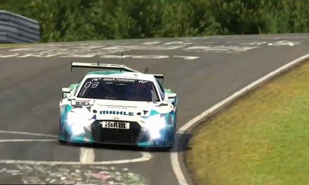 VLN3 Online race report: Mahle recovers from first-lap incident to win the race