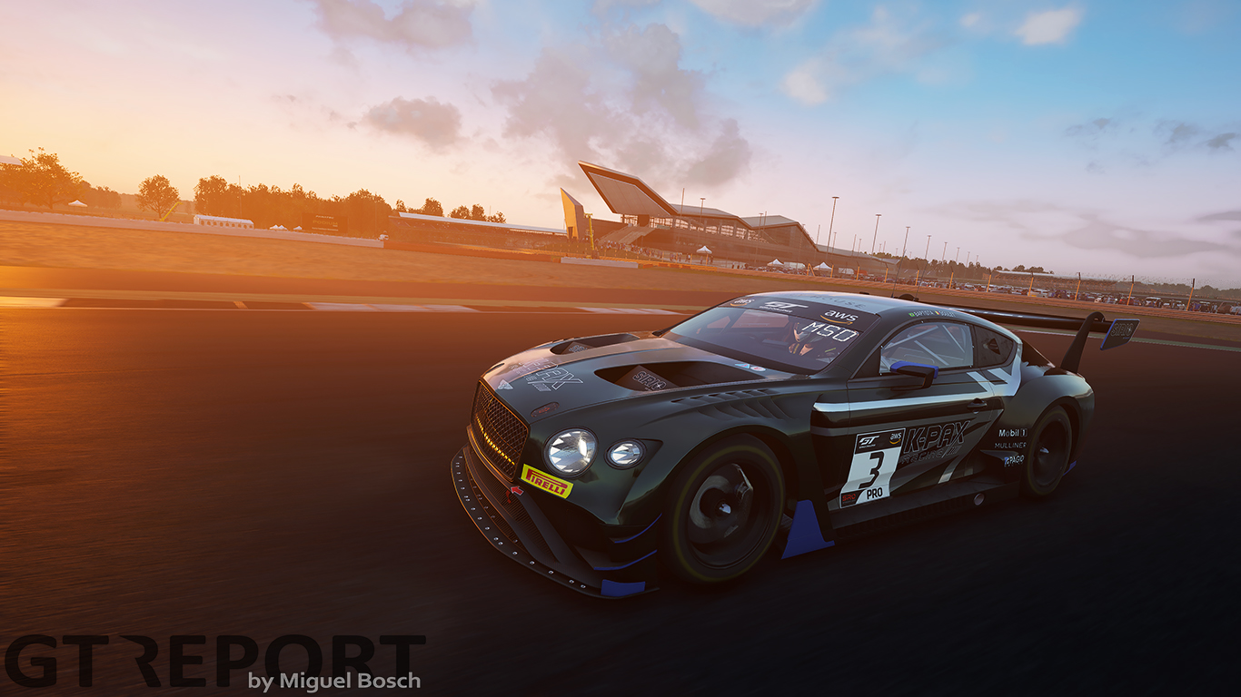 SRO E-Sport GT Series Silverstone: Pepper dominates to give Bentley home success