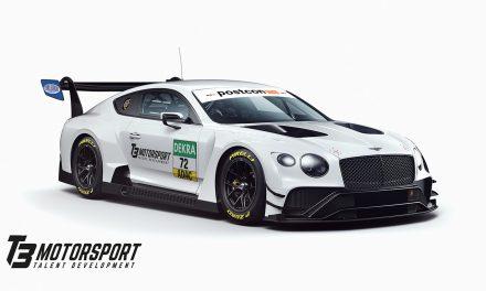 T3 Motorsport announces Bentley for ADAC GT Masters