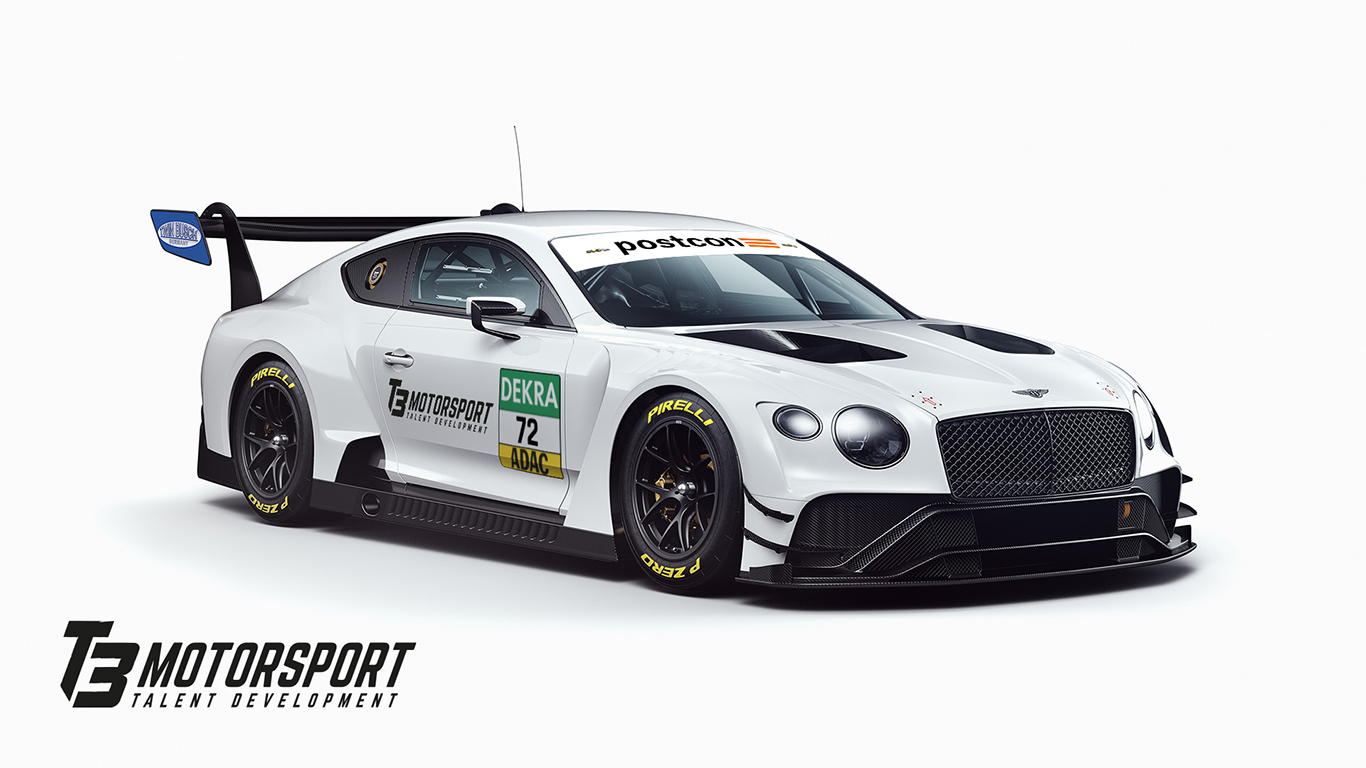 T3 Motorsport announces Bentley for ADAC GT Masters