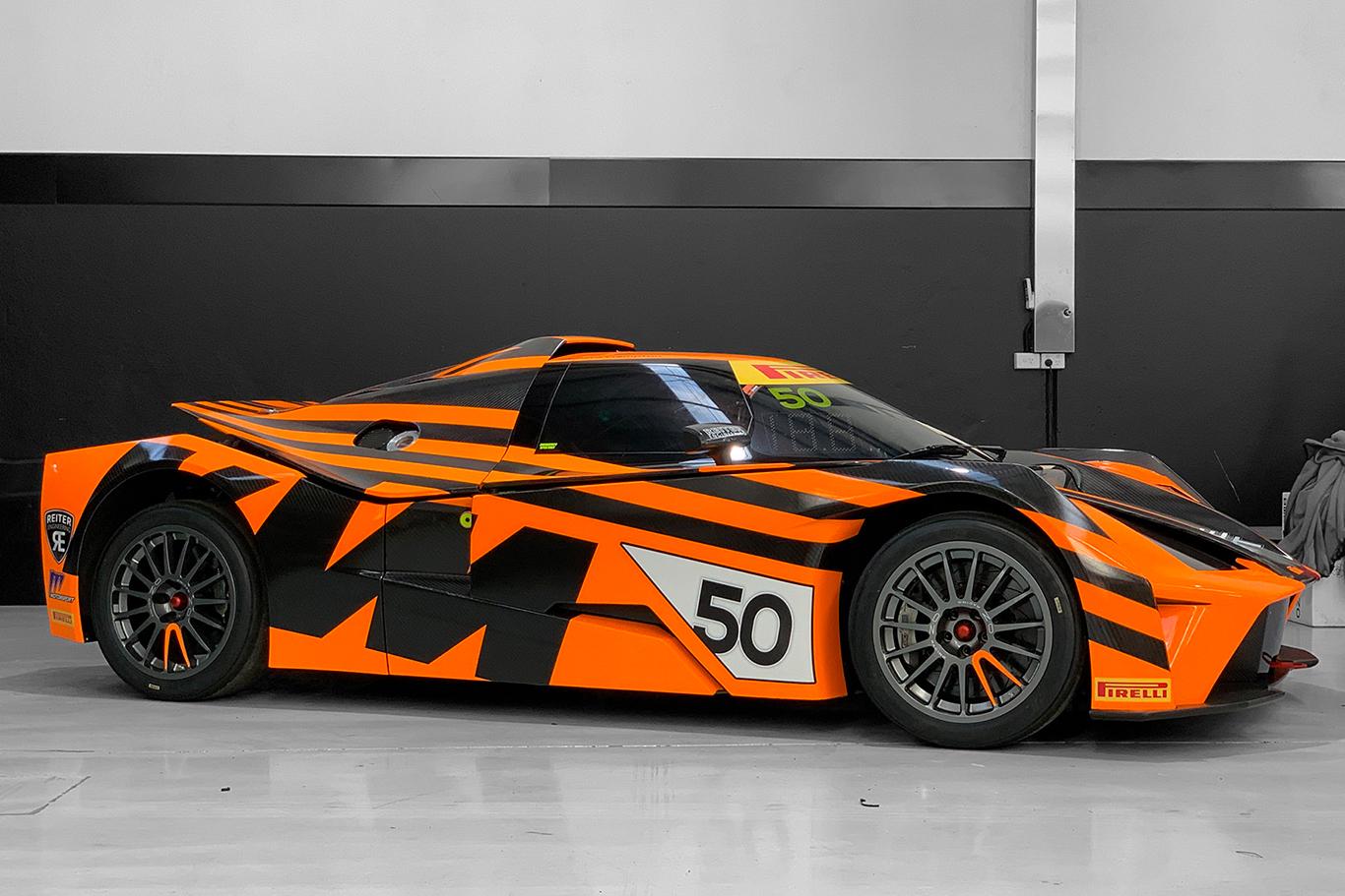 Vantage Racing unveils new KTM X-Bow GT4 ahead of Australian GT return
