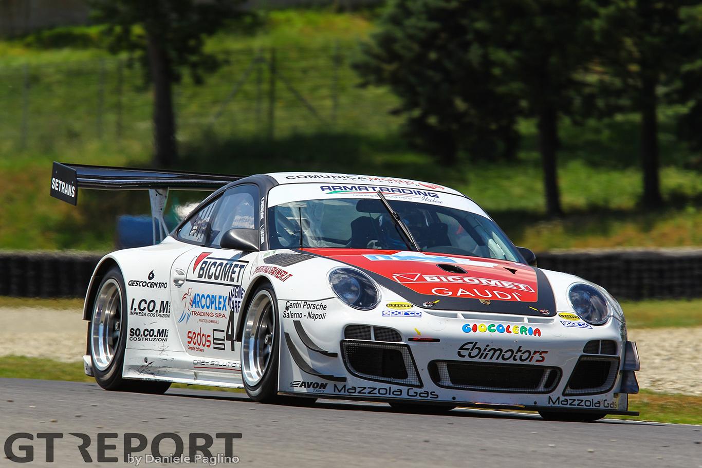 Ebimotors returns to Italian GT with Porsche