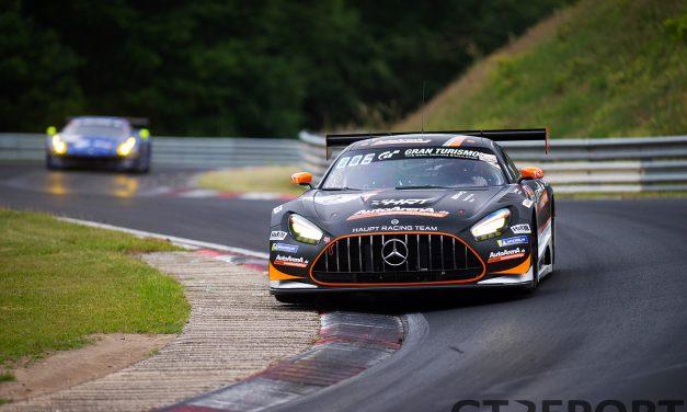 #6 HRT Mercedes-AMG won't start NLS3 after crash in practice; team shuffles drivers around