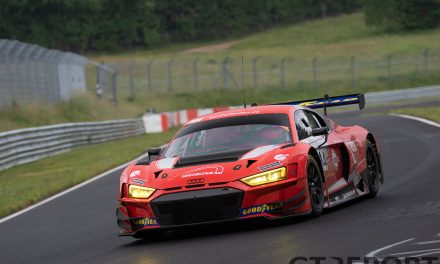 VLN second pre-season test report