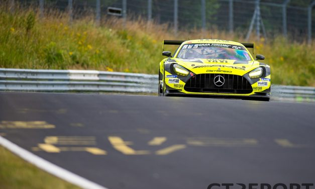 Testing accident takes #2 GetSpeed AMG out of Saturday's Nürburgring season-opener