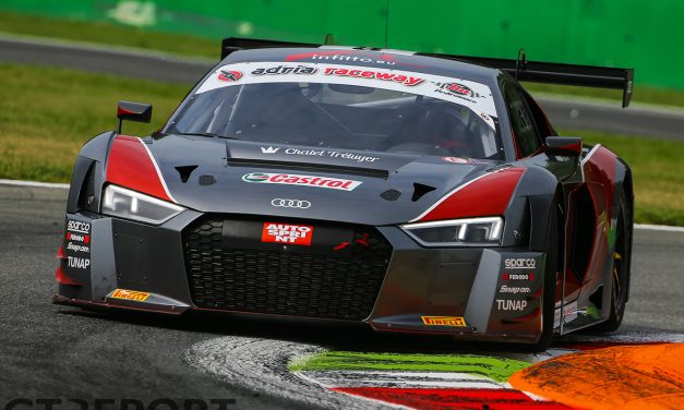Mattia Drudi completes stellar Audi Sport Italia drivers line-up