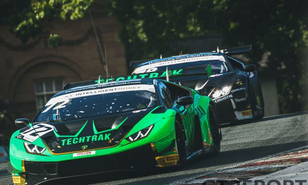 British GT Oulton Park: Barwell take race two 1-2 after lengthy safety car curtails action