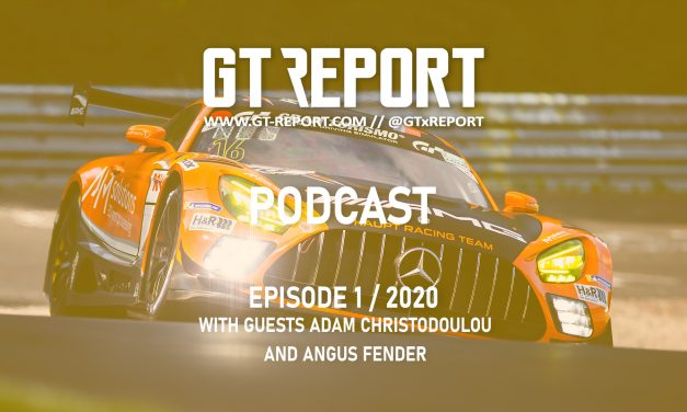 GT REPORT Podcast Episode 1 / 2020 with guests Adam Christodoulou and Angus Fender