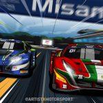 GT World Challenge Europe Italia art by Artistxmotorsport