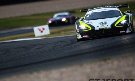 British GT Donington Park: McLaren takes quadruple pole