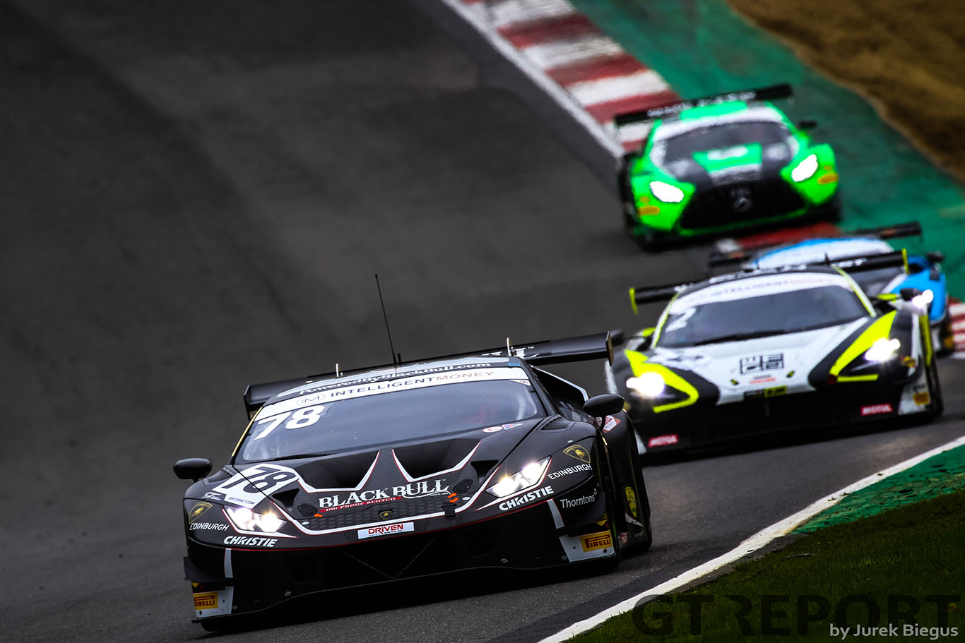 British GT Brands Hatch: Barwell benefits from pitlane chaos to secure victory