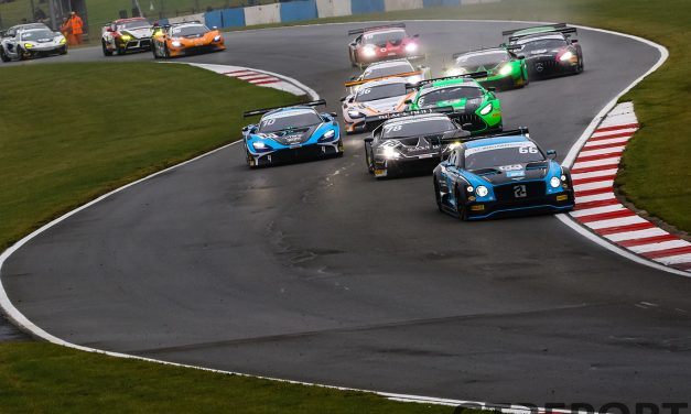British GT Donington Park 2 entry list