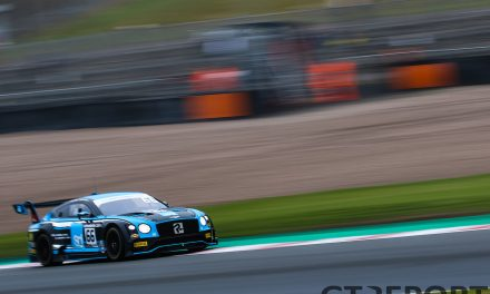 British GT Donington Park: First victory in three years for Team Parker Racing with tyre gamble in race 2