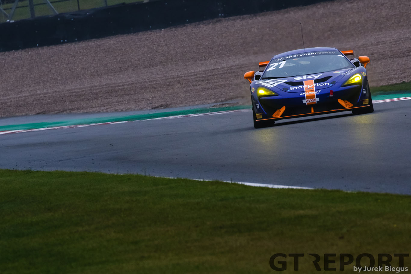 British GT Donington race 2