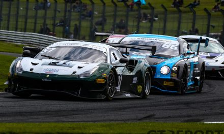 British GT Donington Park entry list