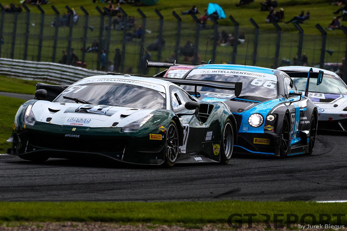 British GT Donington Park entry list