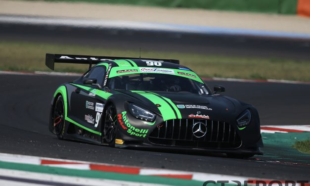Italian GT Misano: Loris Spinelli and Alessio Rovera grab pole positions to kick off the 2020 Sprint Series
