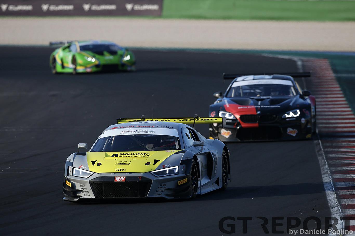 Italian GT Misano: Agostini, Mancinelli take Race 1 honors for Audi Sport Italia
