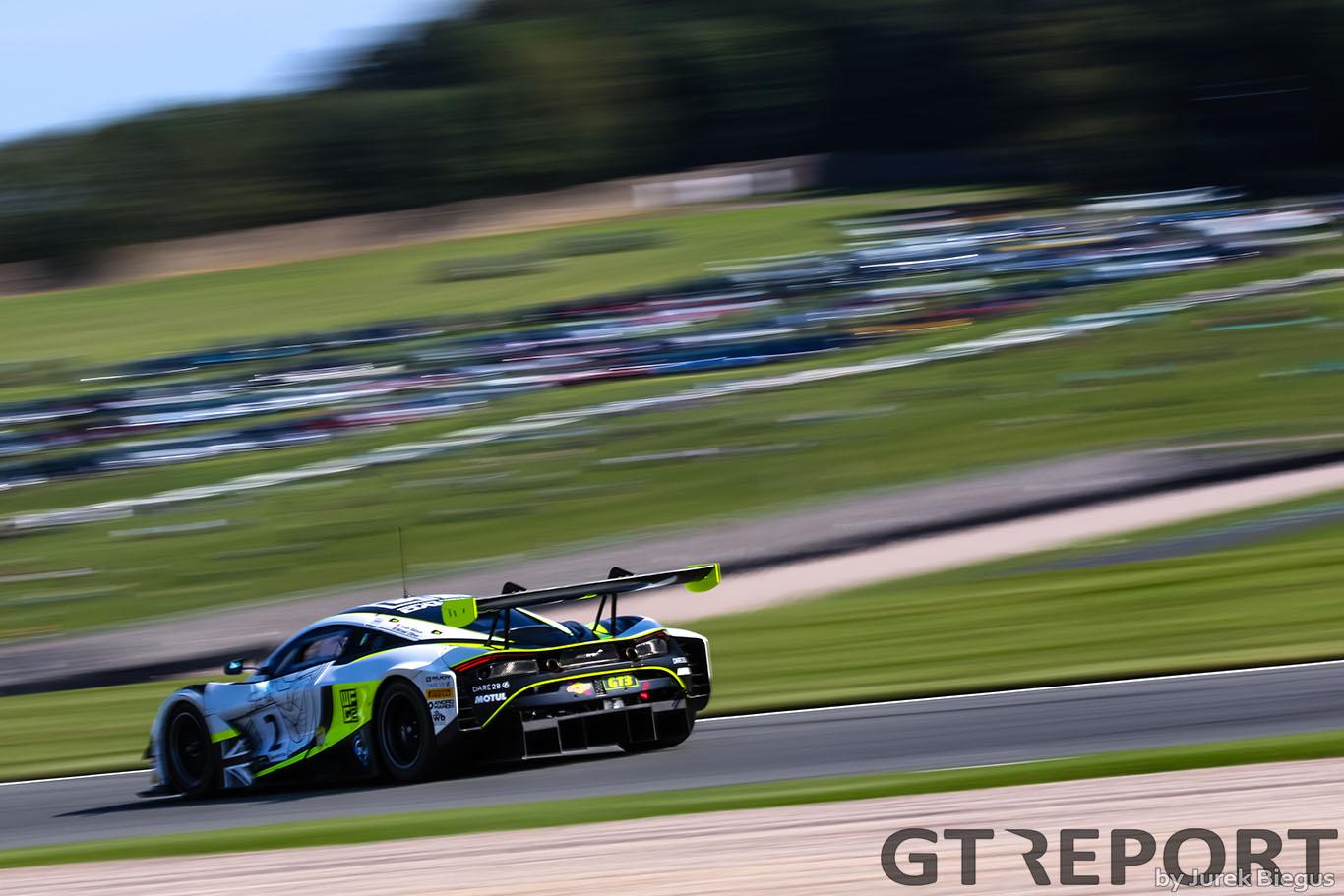 BRITISH GT DONINGTON 2020 RACE REPORT