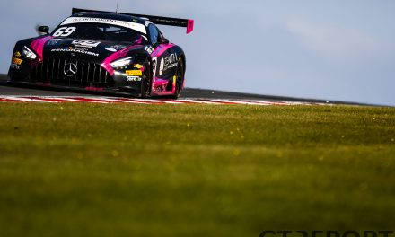 British GT Donington Park: RAM Racing spins and wins