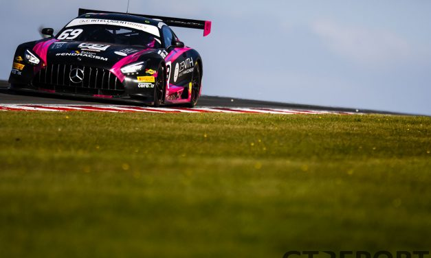 British GT Donington Park 2: RAM Racing spins and wins