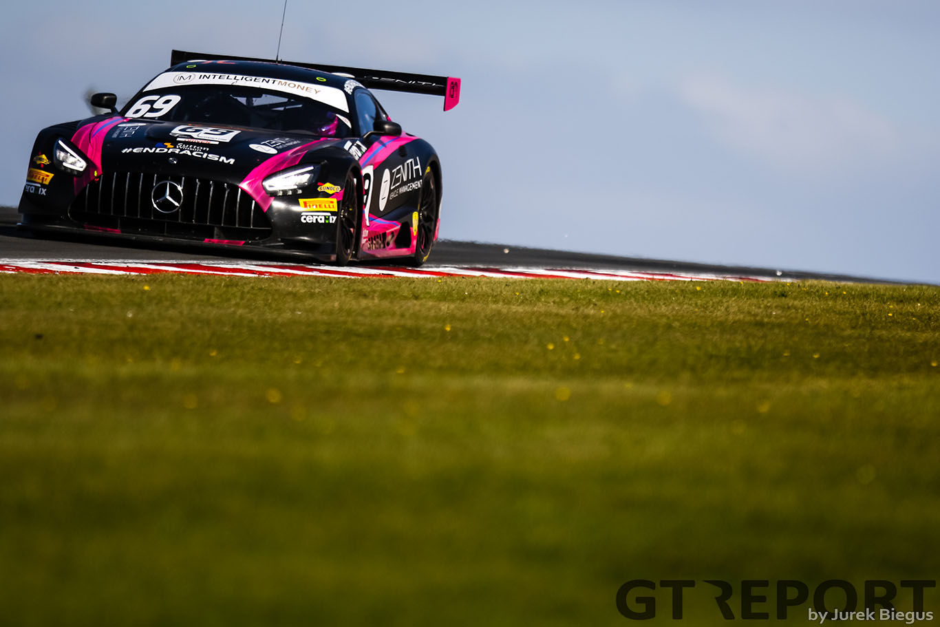 British GT Donington Park: RAM Racing spins and wins