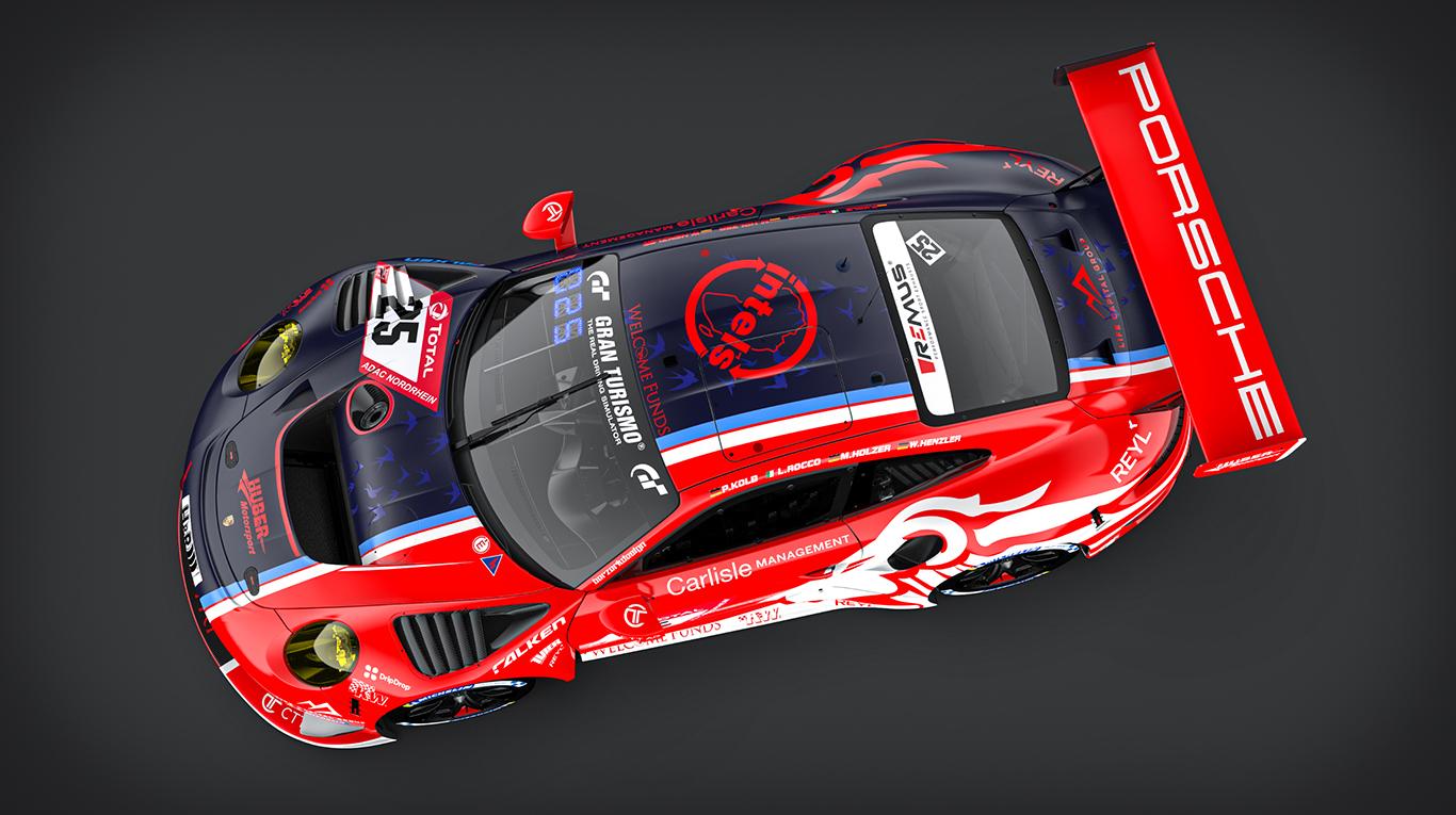 GT3 debutant Huber Motorsport adds Wolf Henzler to Nürburgring 24 Hours line-up, presents special livery
