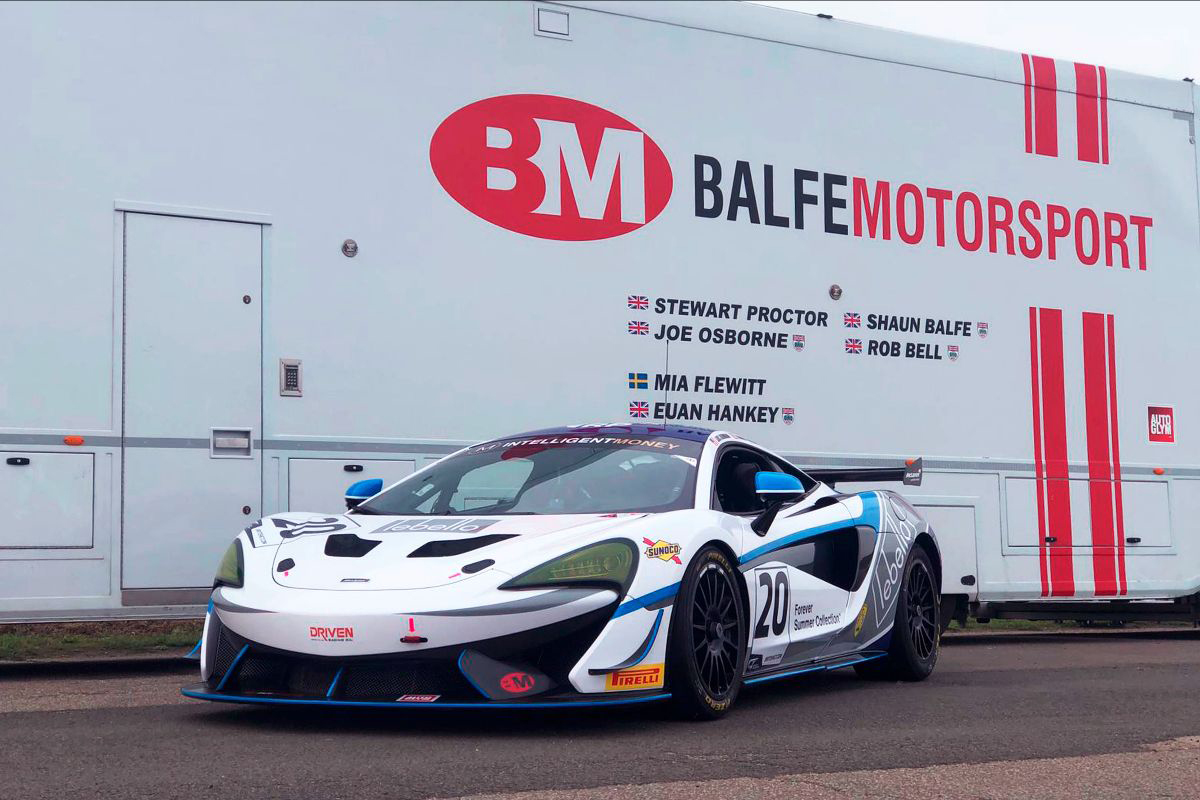 Balfe Motorsport brings third McLaren GT4 to British GT season finale