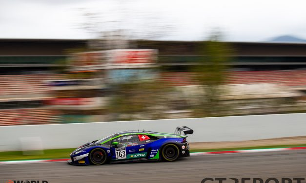 GT World Challenge Barcelona: Altoè and Costa score hattrick in second race as championship fight tightens