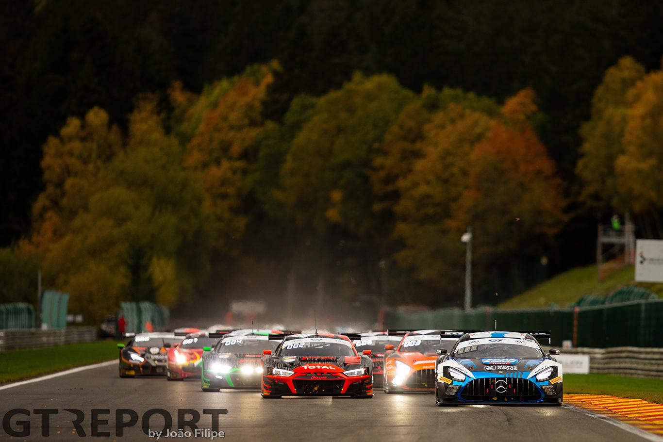 Spa 24 Hours race analysis
