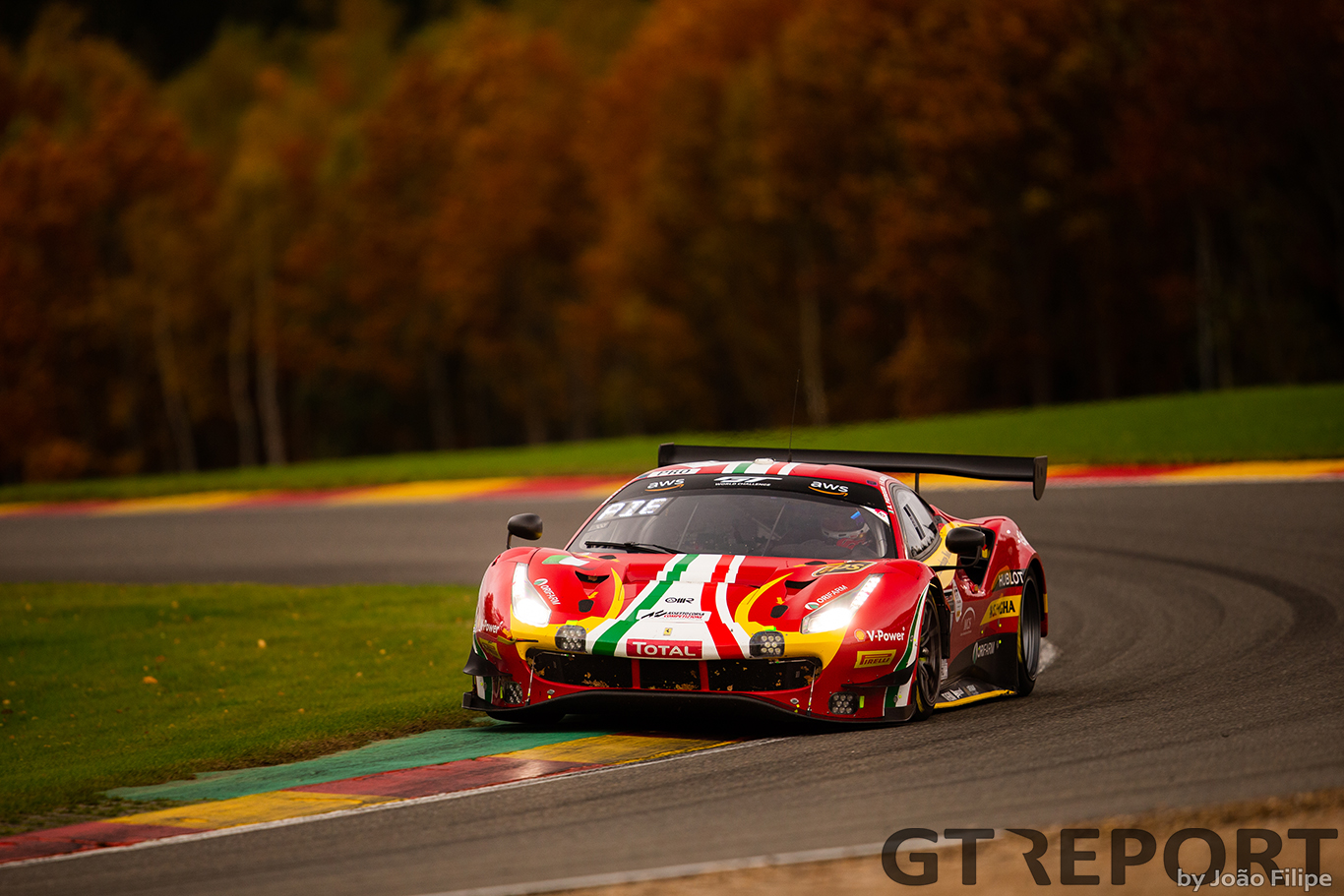 GT World Challenge Paul Ricard race report: AF Corse claims race win and title with late strategic call