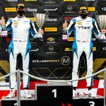 British GT Snetterton: 2 Seas become seventh different winners in wet race one