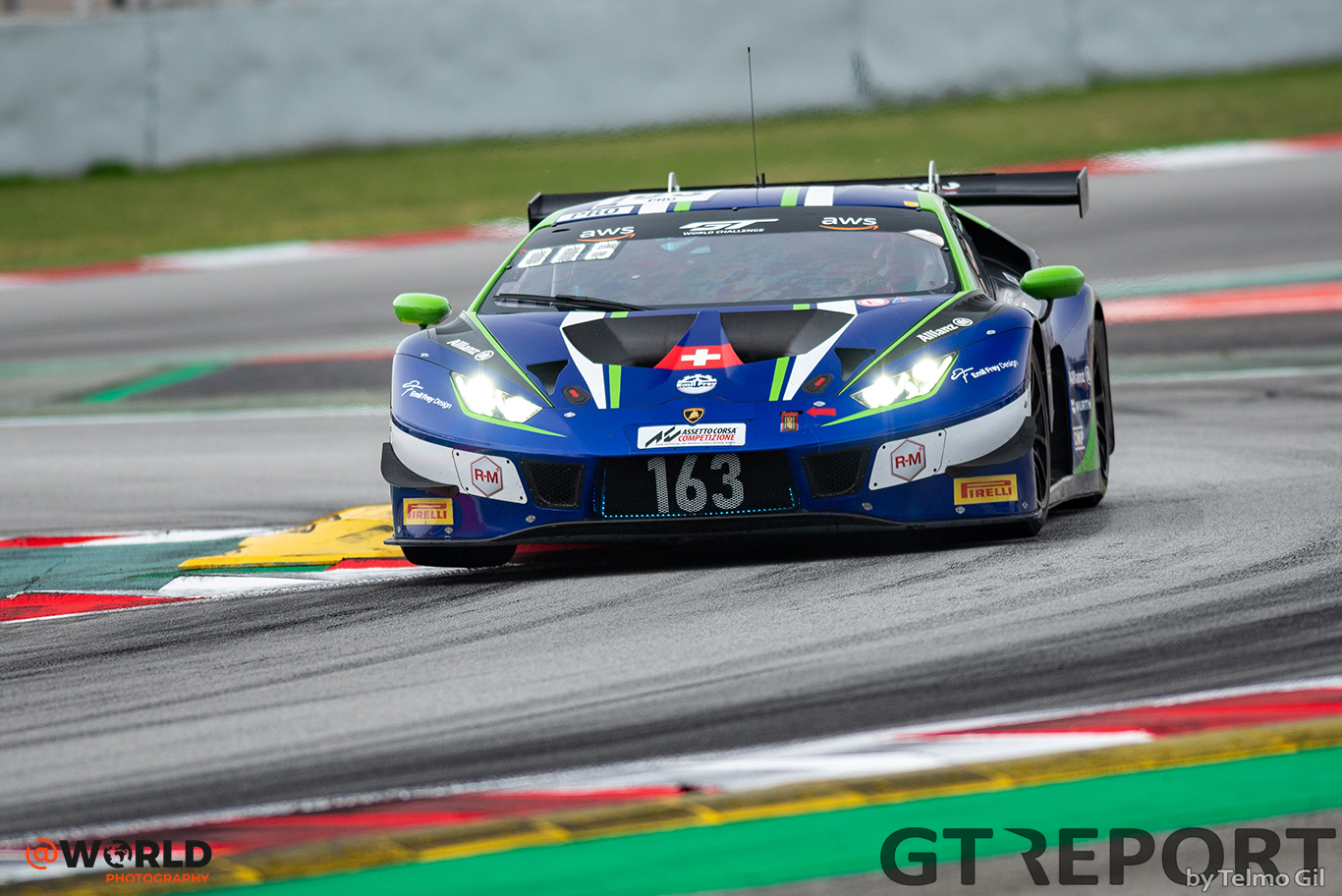 GT World Challenge Barcelona: Emil Frey Racing joins title fight with 1-2 win in race one