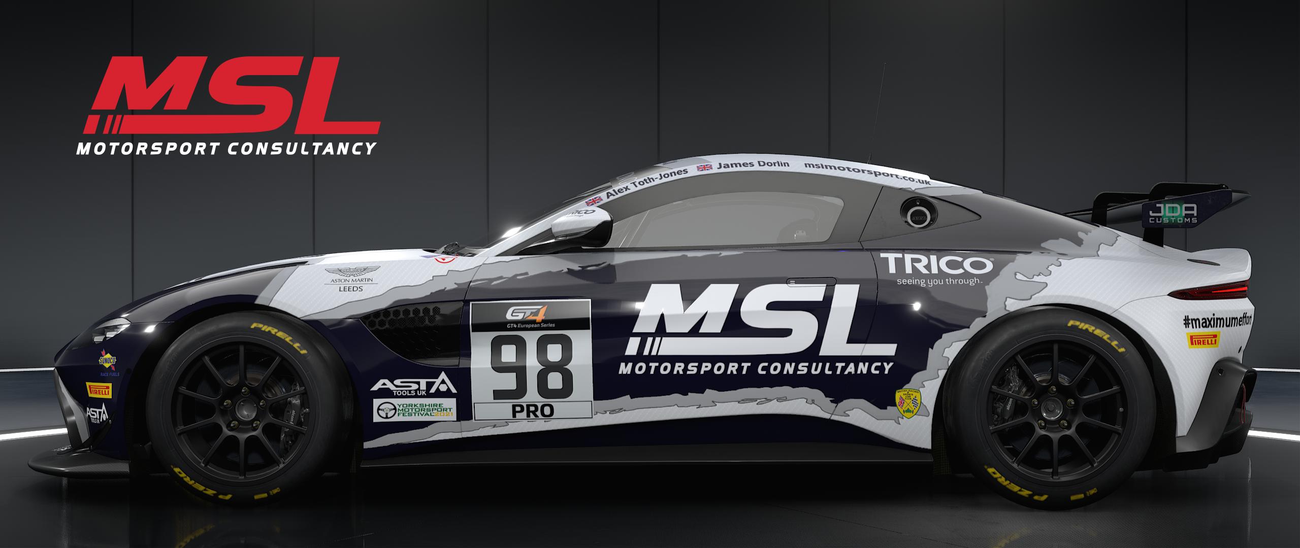 Newbridge Motorsport to debut in British GT