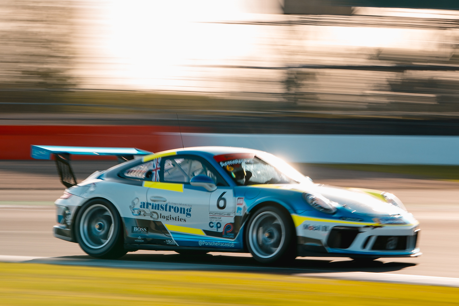 Second GTC Porsche for British GT