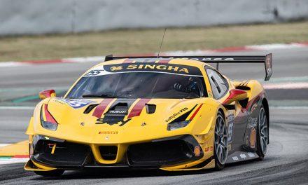 Third Ferrari for British GT GTC class