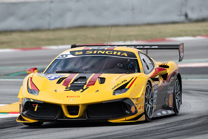 Third Ferrari for British GT GTC class