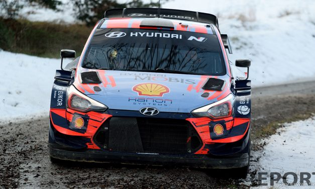 WRC Monte-Carlo Rally Hyundai Motorsport test day gallery