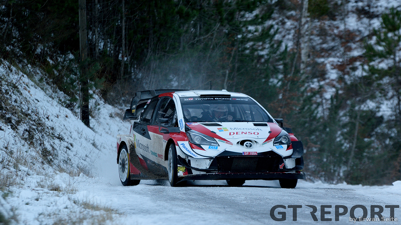 WRC Monte-Carlo Rally Toyota test day gallery