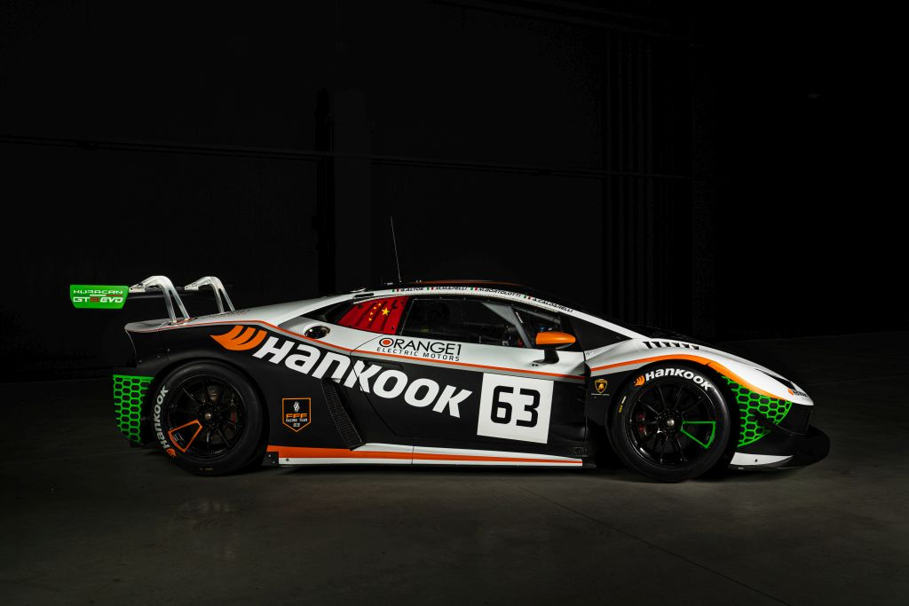 FFF Racing presents all-Italian, Lamborghini works driver line-up and Hankook livery for Nürburgring season