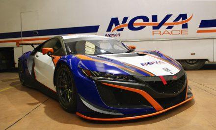 Nova Race unveils Honda NSX GT3 colours during Italian GT private test