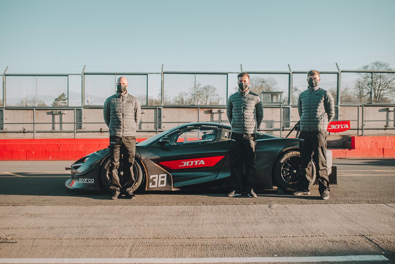 Jota Sport signs Rob Bell, Ben Barnicoat, Ollie Wilkinson for McLaren programme in GTWC Europe