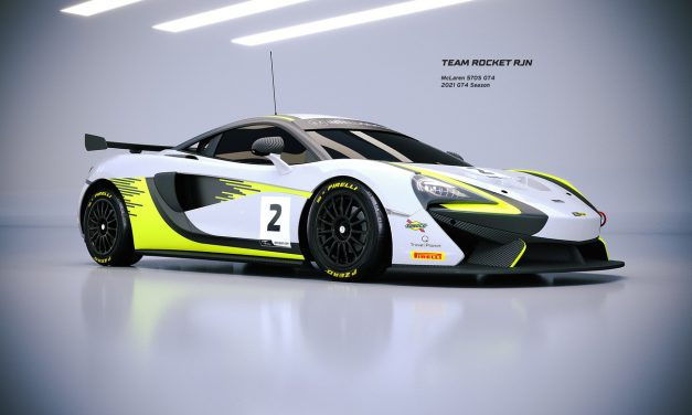 Kell and Collard join Team Rocket RJN's third McLaren GT4