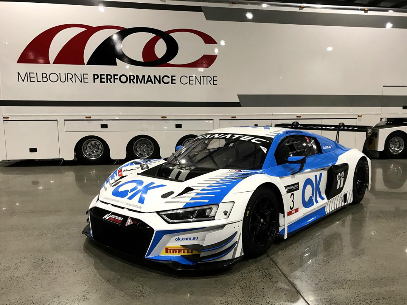 Melbourne Performance Centre adds two additional Audi R8 LMS Evos for GTWC Australia