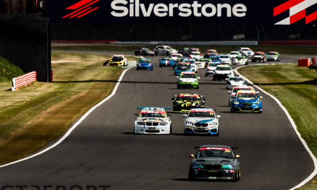 Britcar Trophy Silverstone race report: Baker and Clarke clean-sweep the day