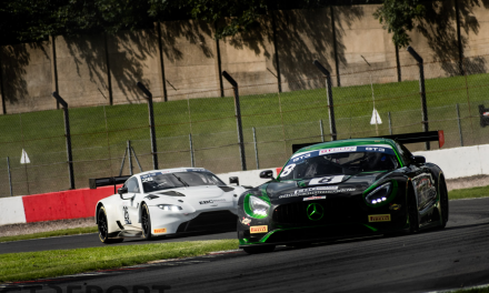 GT Cup Donington: Neary duo win three from four